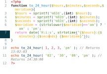 Panic's PHP Colour