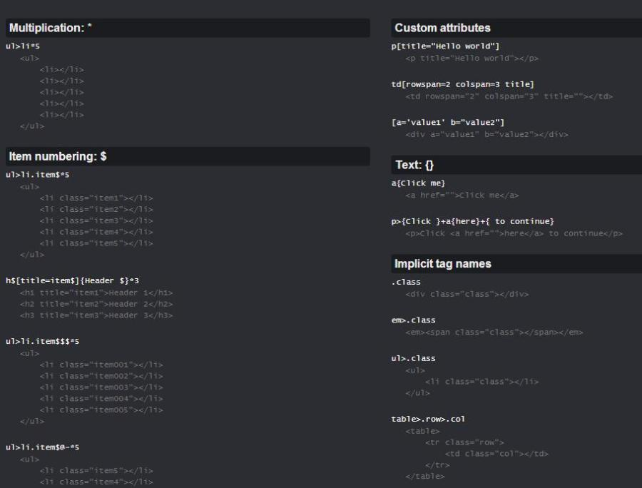 30 Useful Cheat Sheets For Web Developers Creativenauts