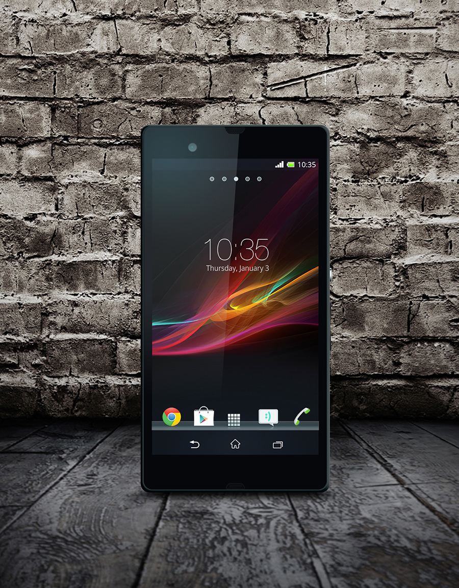 free_xperia-z_free_PSD_Mock-up